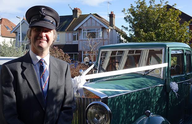 Professional chauffeur for you wedding