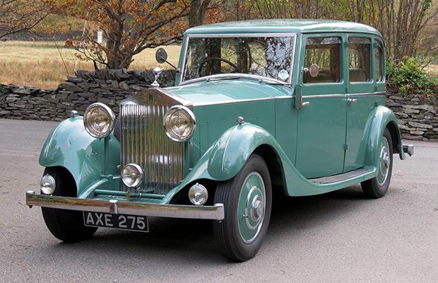 Vintage Rolls-Royce Wedding Car